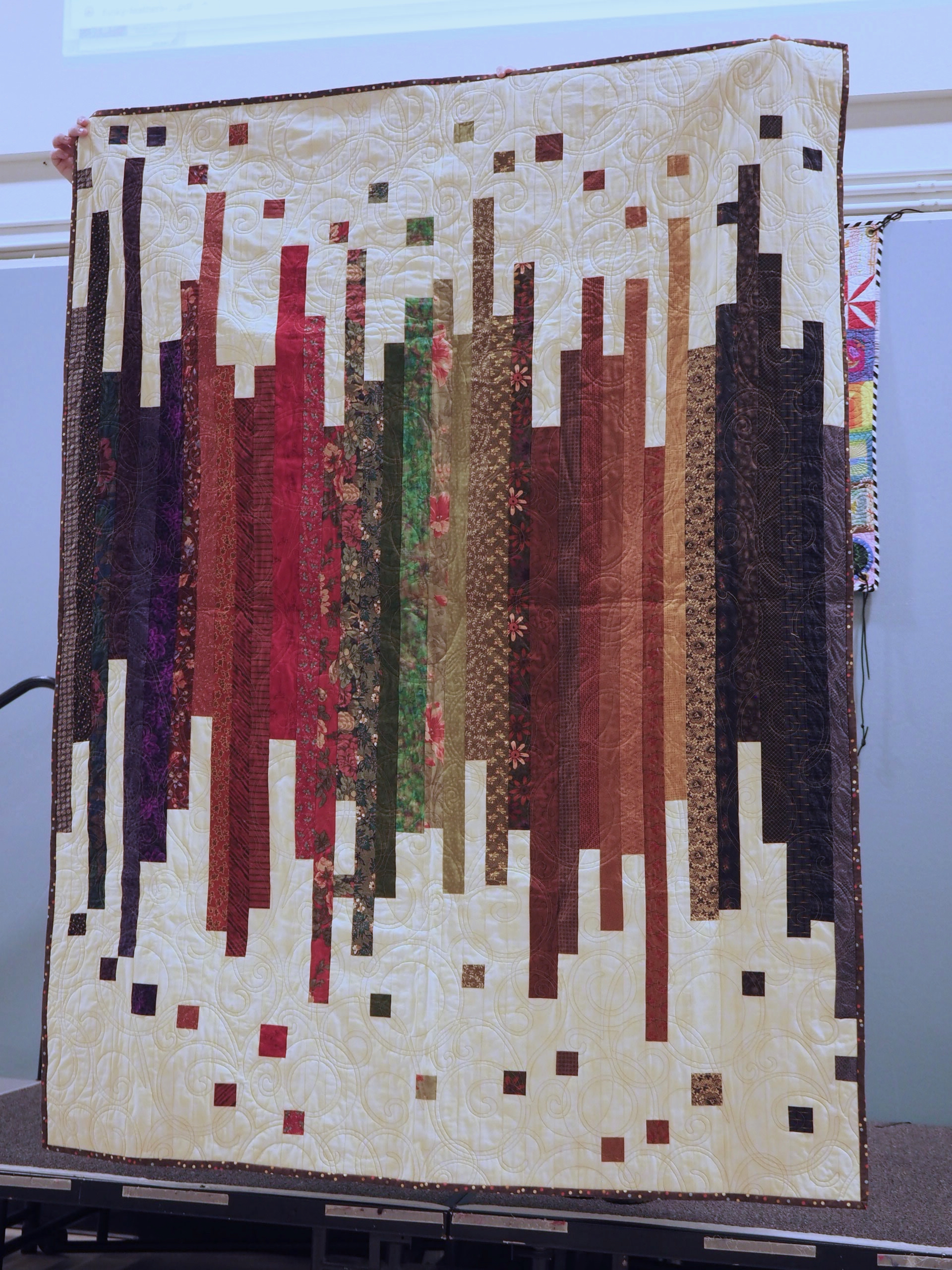 Strips and Coins by Janet Surbrook