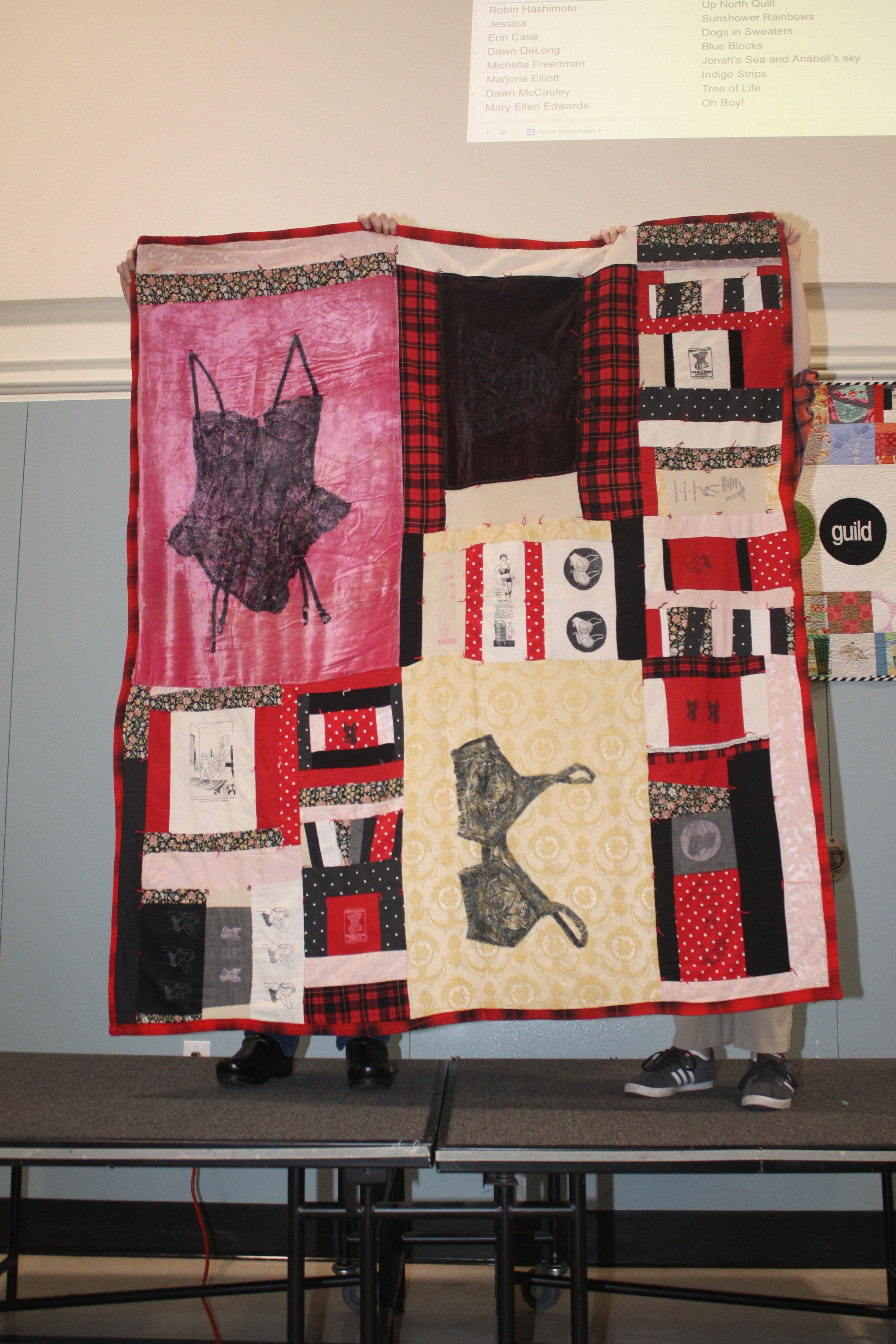 Marci Macfarlane's First Quilt