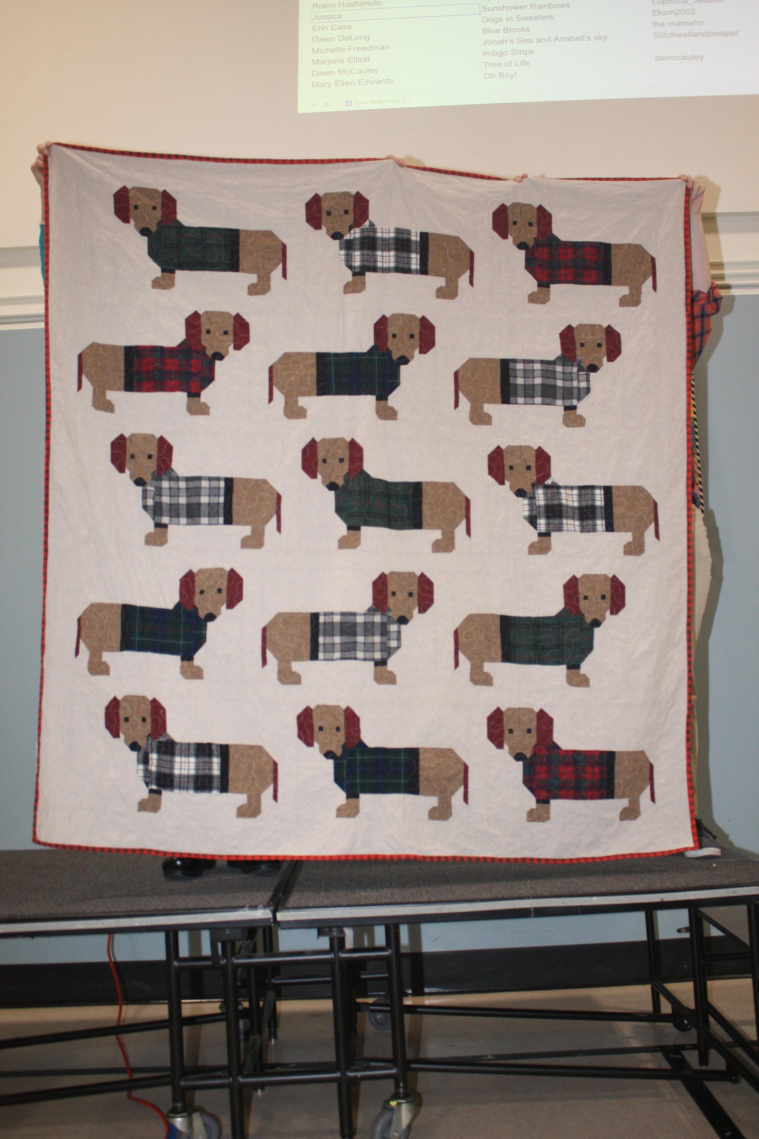 Dogs in Sweaters by Erin Case
