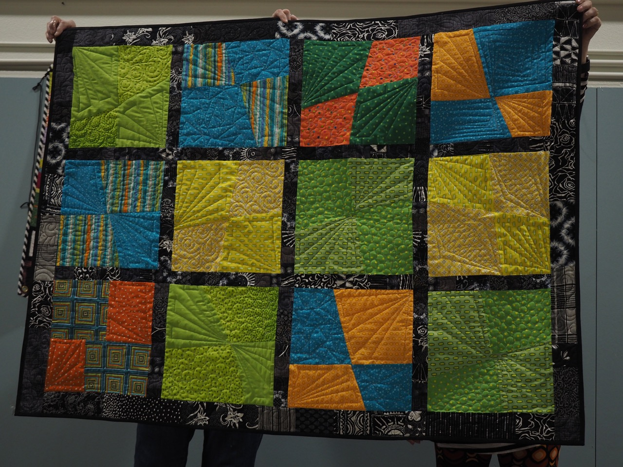 Charity Quilt by Judy Livingston