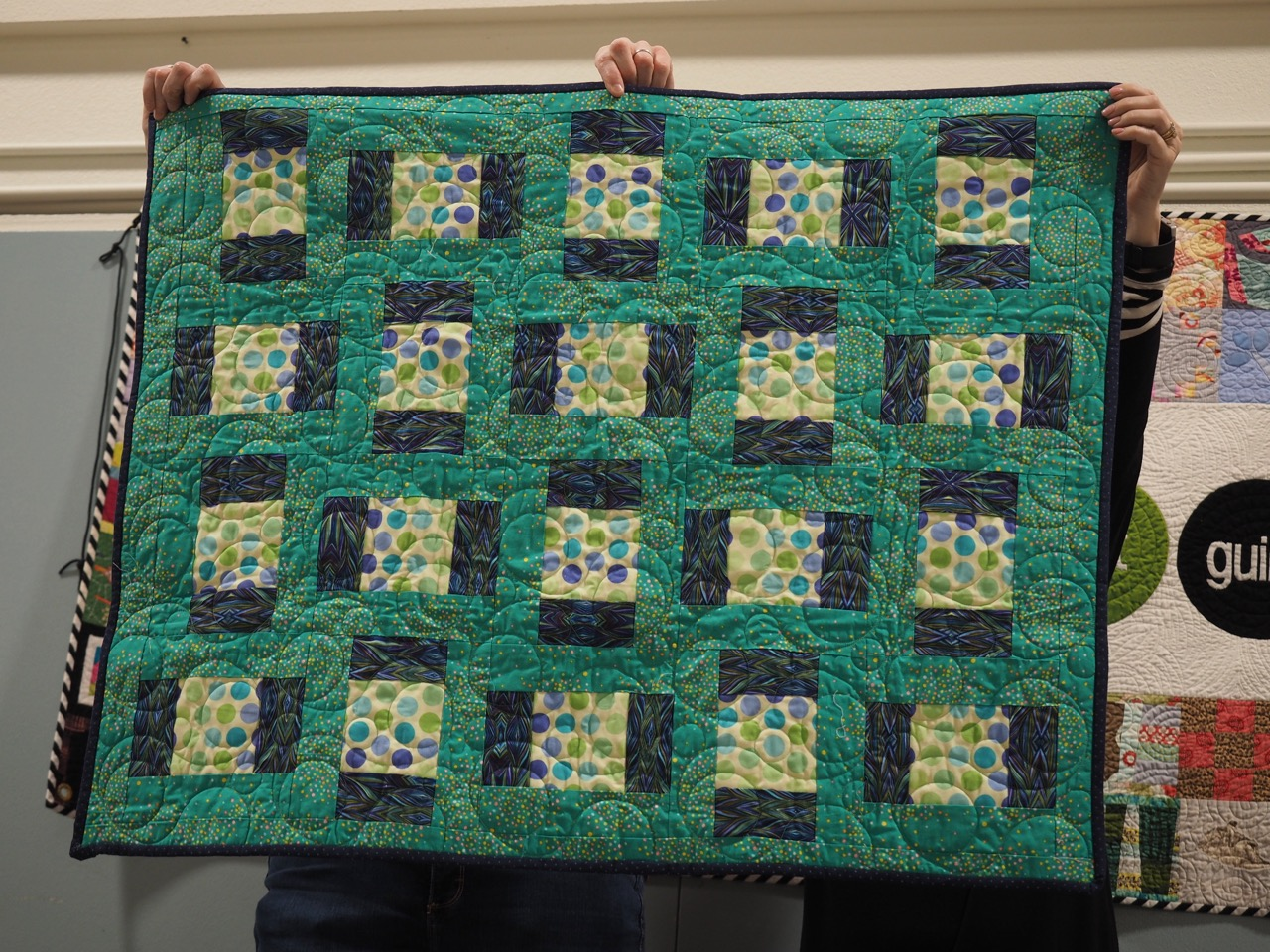 Baby Quilt by Sara Jewell