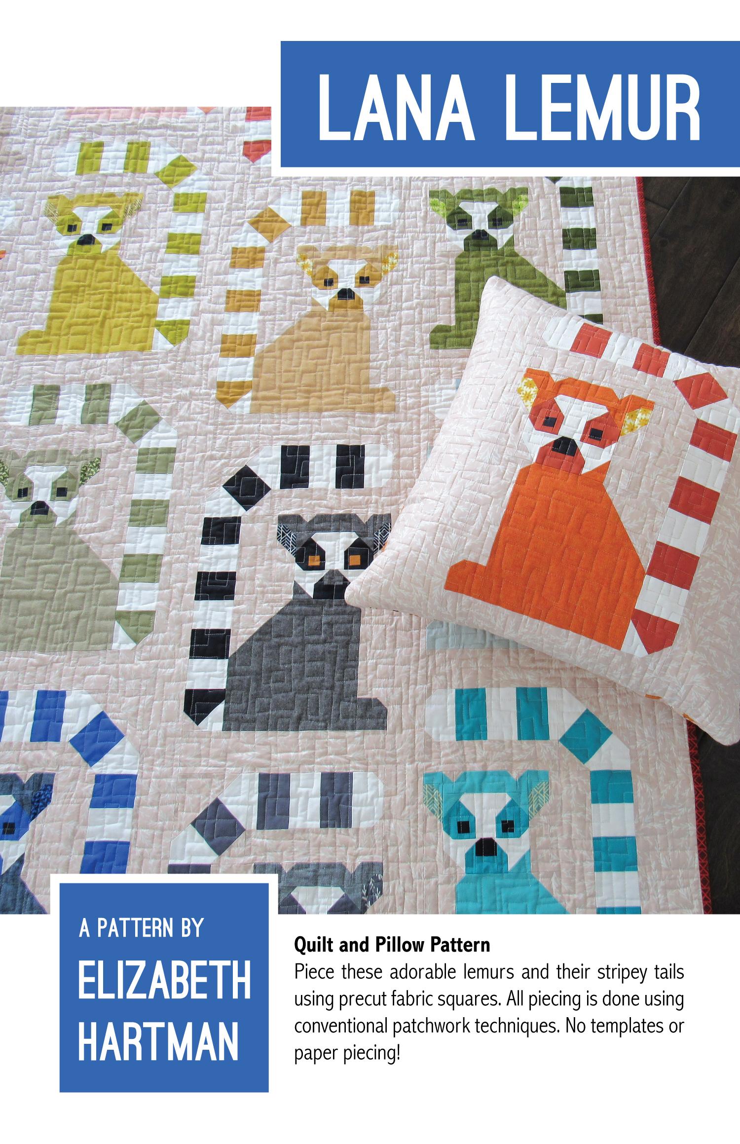 Lana Lemur Pattern by June Speaker Elizabeth Hartman