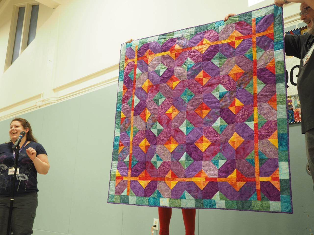 Alicia's Quilt by Karen Bailey
