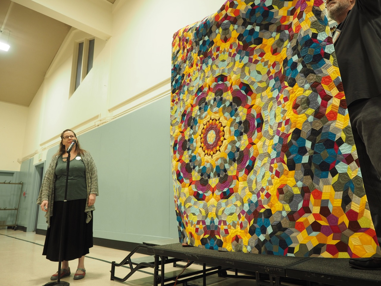The Kaleidoscope Quilt by Gail Weiss