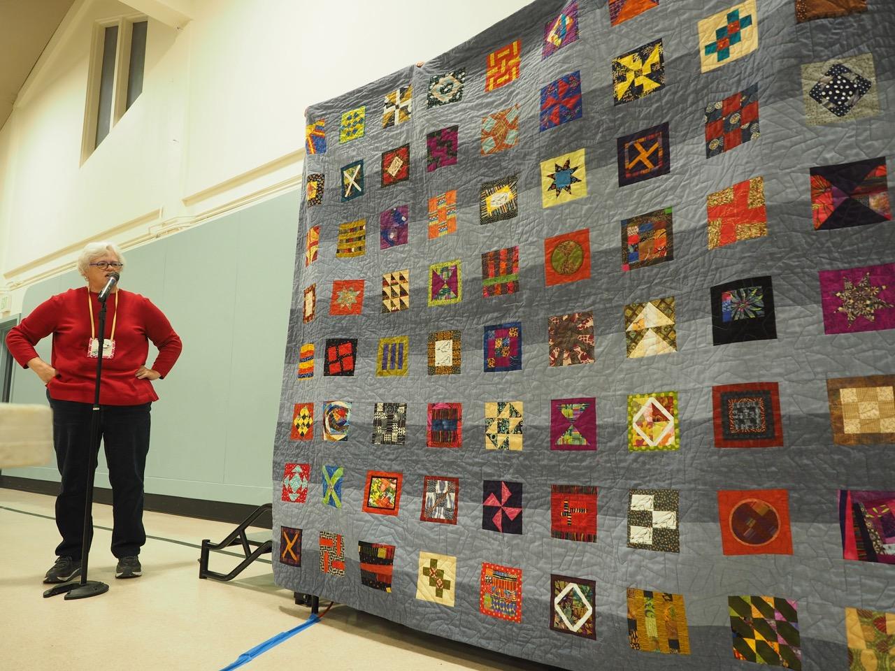 New Bed Quilt by Marjorie Elliott