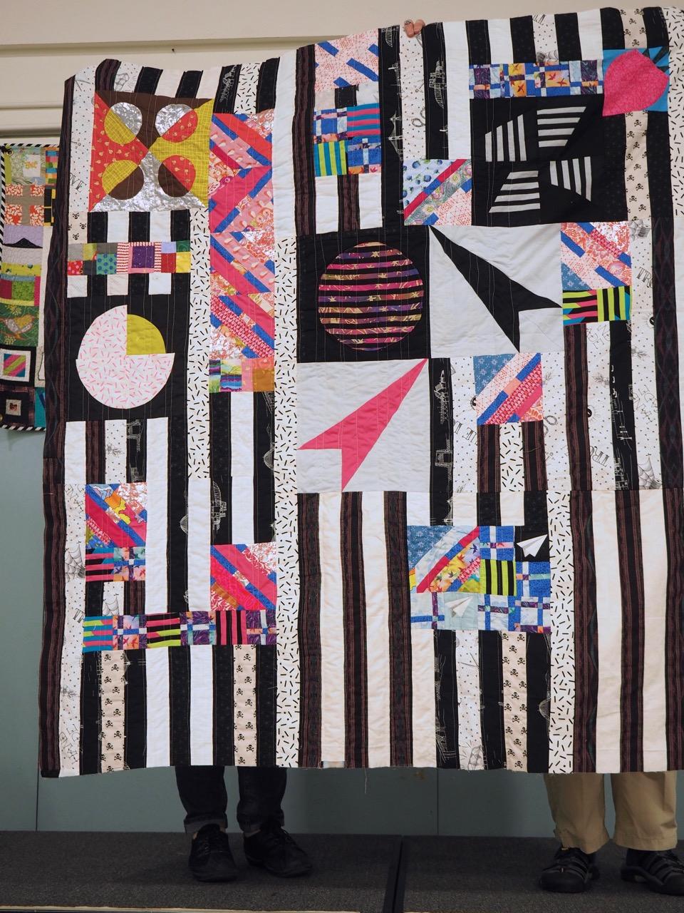 PMQG Block of the Month by Sara Flynn