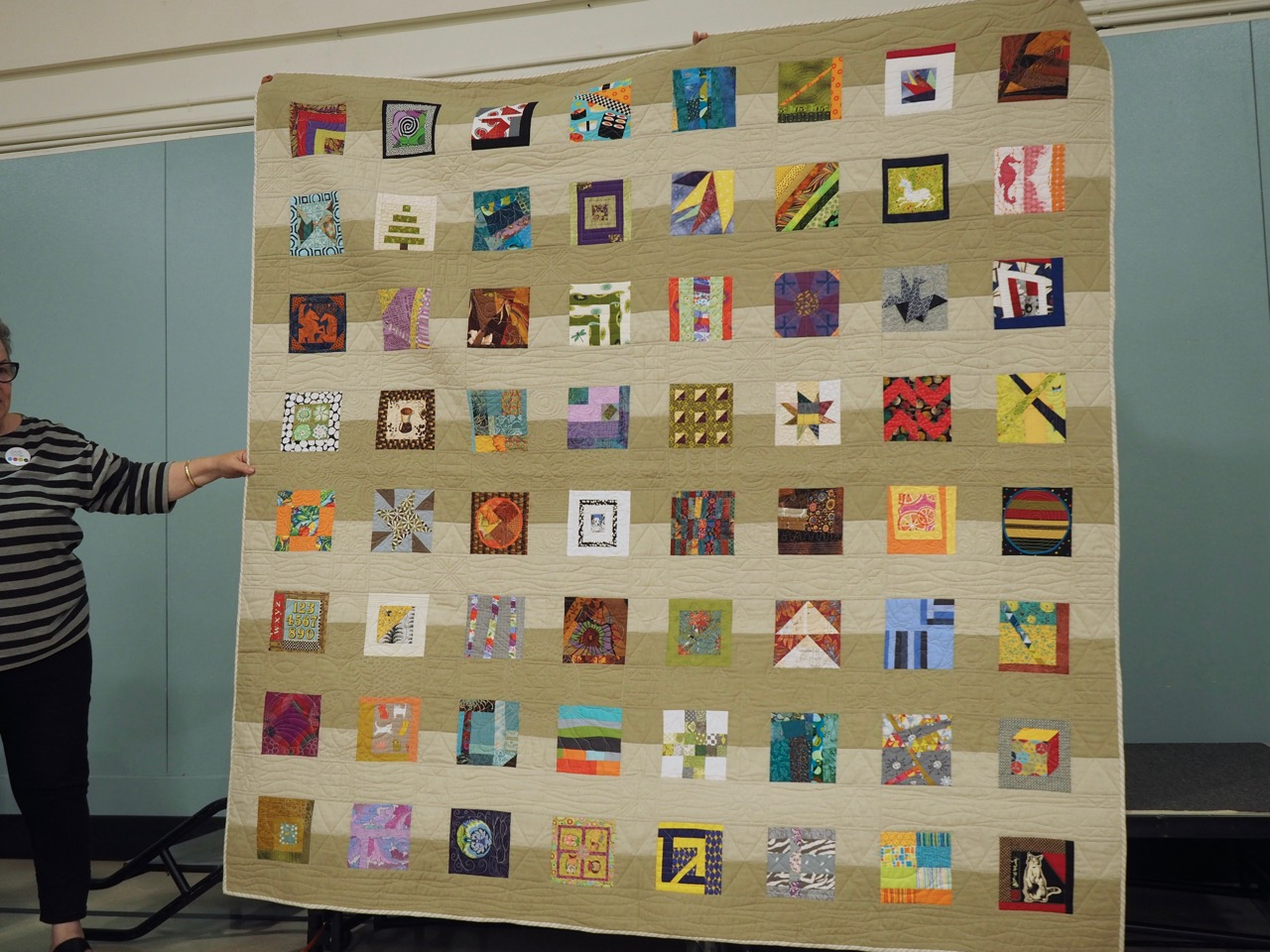 Charty Quilt by the Eastside Scrappers