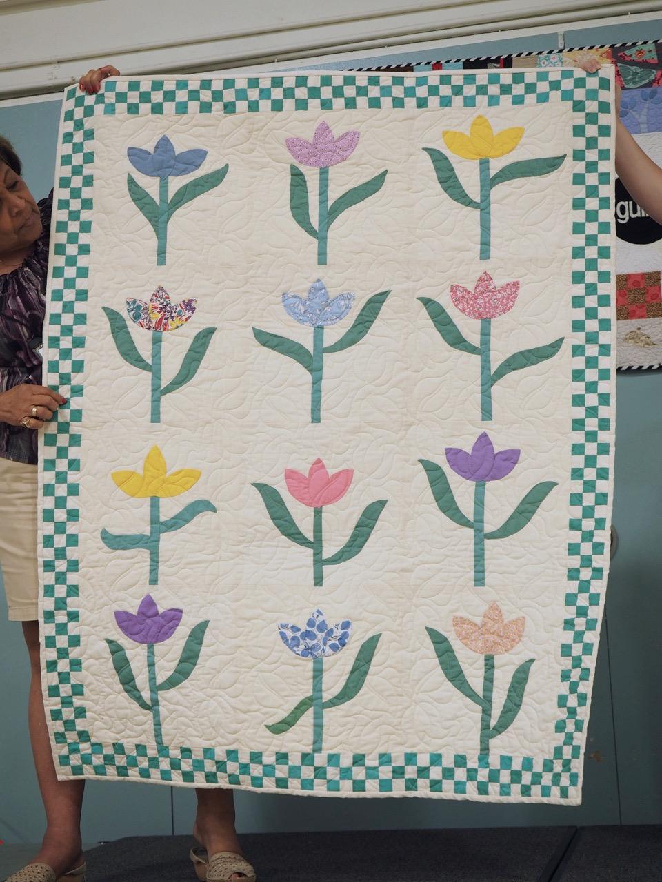 Tulip Quilt by Joy Ruplinger