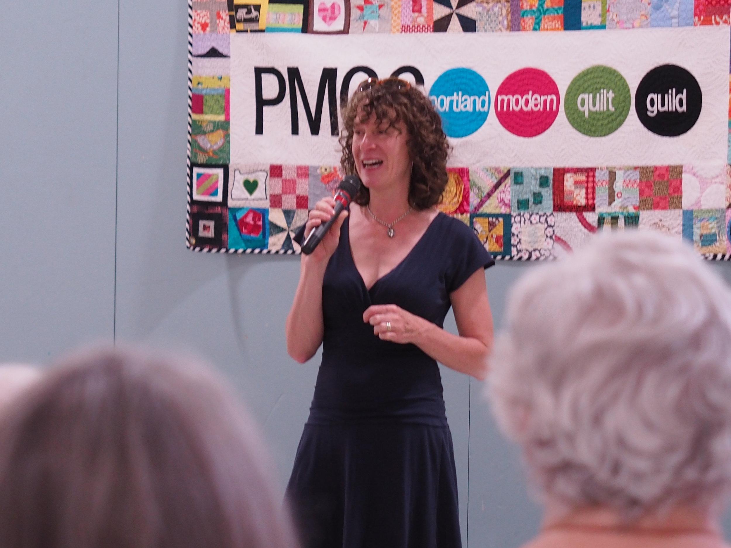 Katie Pedersen, our August Speaker