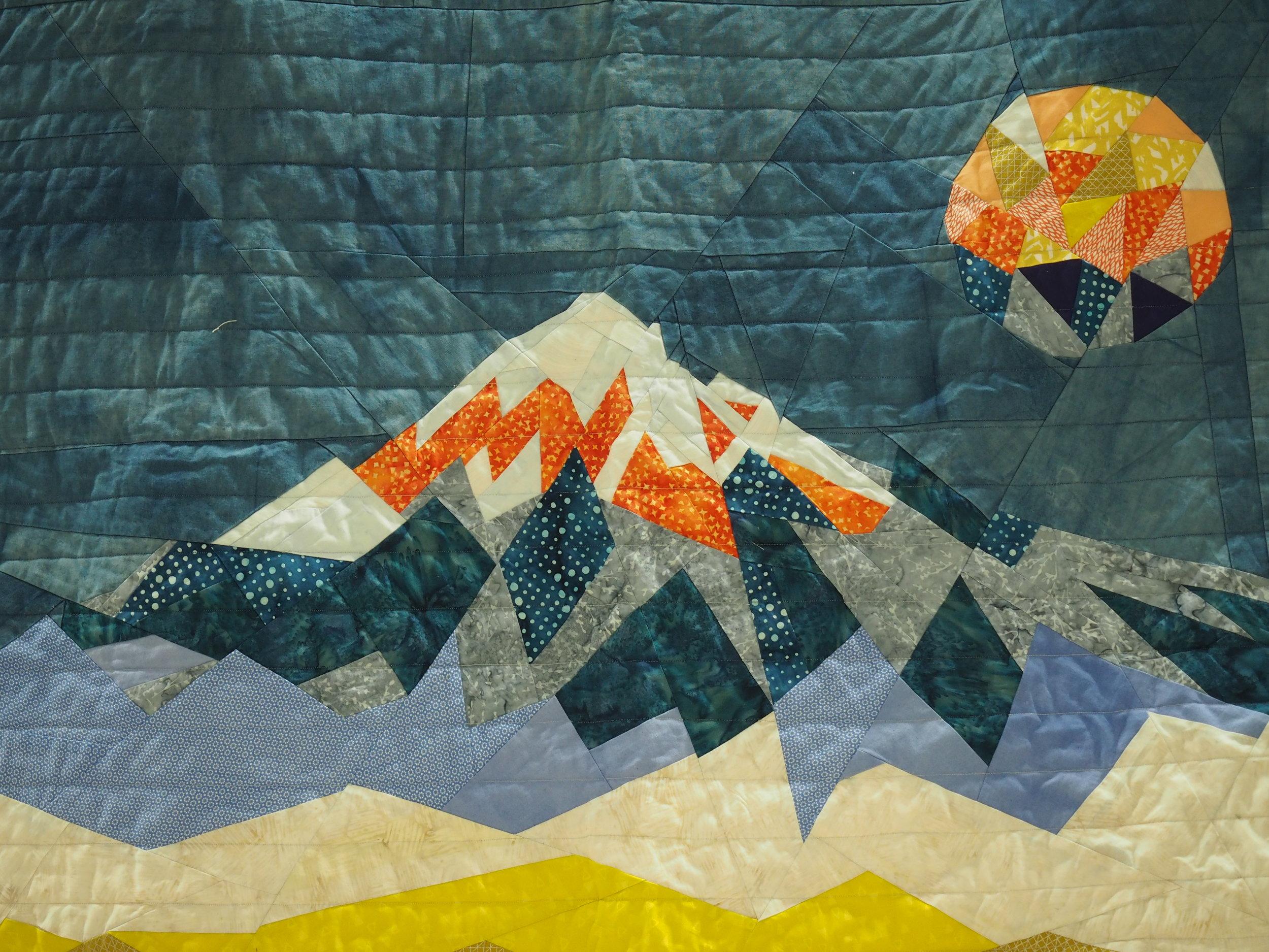 """""""Mt. Hood—The Hike,"""" by Dawn M."""