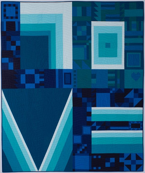 Kinship Love Quilt by Sam Hunter of Hunter's Design Studio, in collaboration with Angie Wilson of Gnome Angel