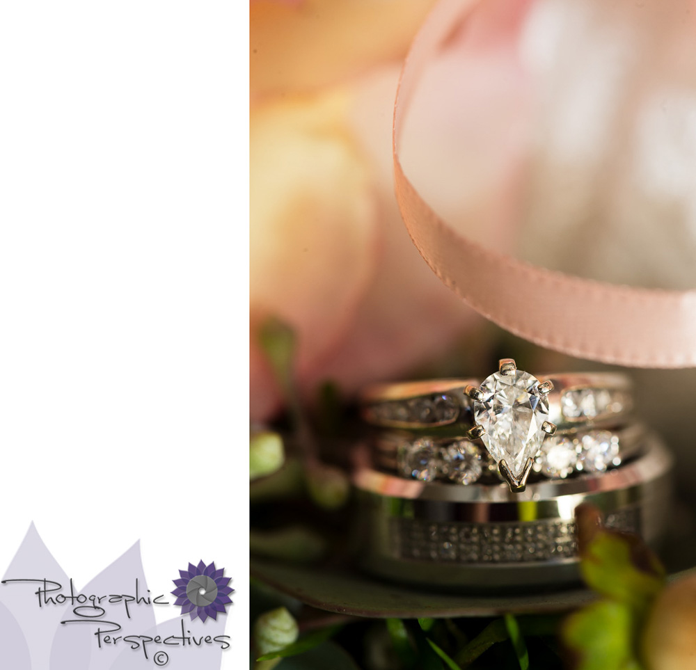 Pear Cut Diamond | Hotel Albuquerque Wedding | Photographic Perspectives | New Mexico Wedding Photographers | Wedding Details