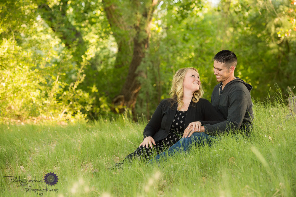 Rio Grande Bosque Engagement | Photographic Perspectives | New Mexico Wedding Photography