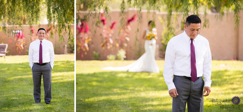 First look | Albuquerque Wedding Photographers | Photographic Perspectives | New Mexico Wedding Photography