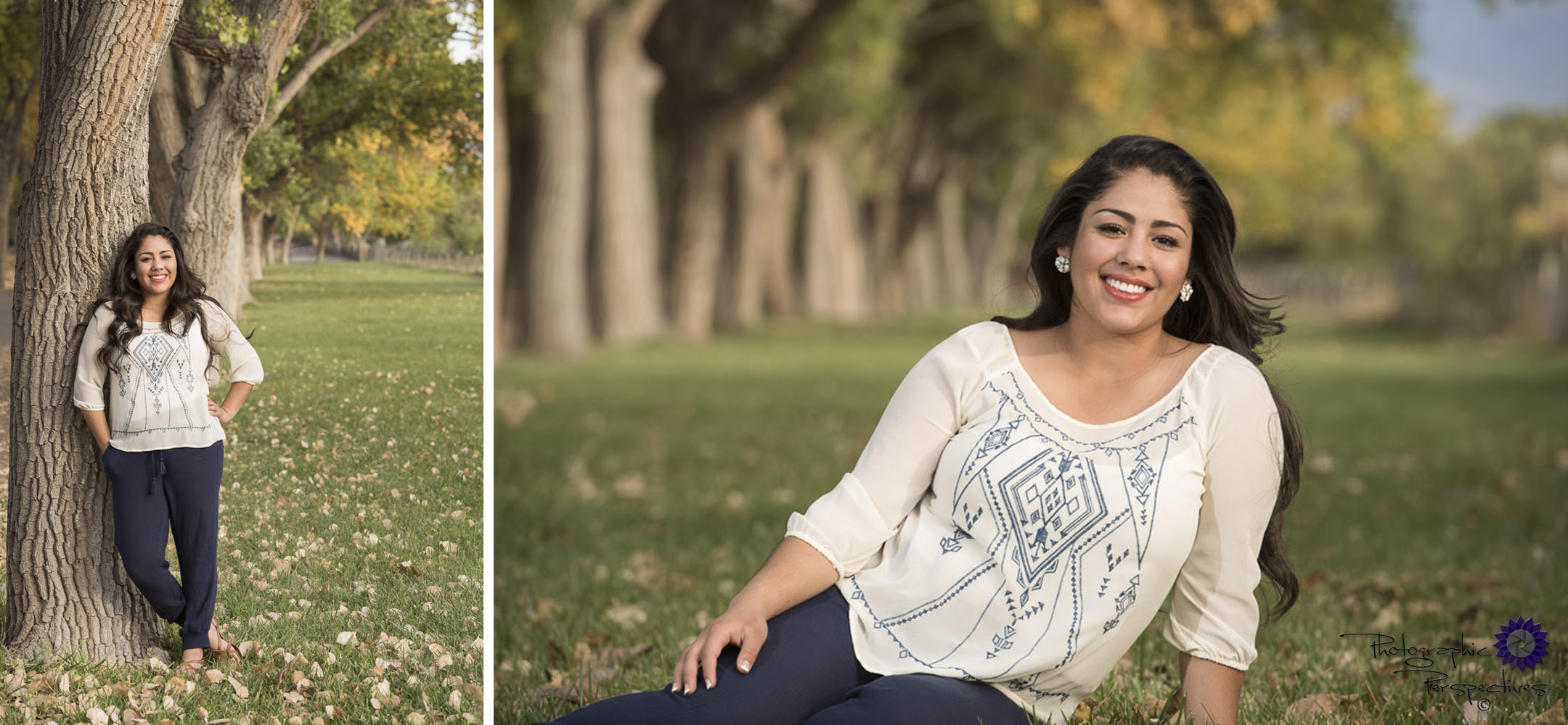 Photographic Perspectives | Fall Senior Portrait | Corrales New Mexico Senior Portrait | Albuquerque Photographers |Creative Senior Photography