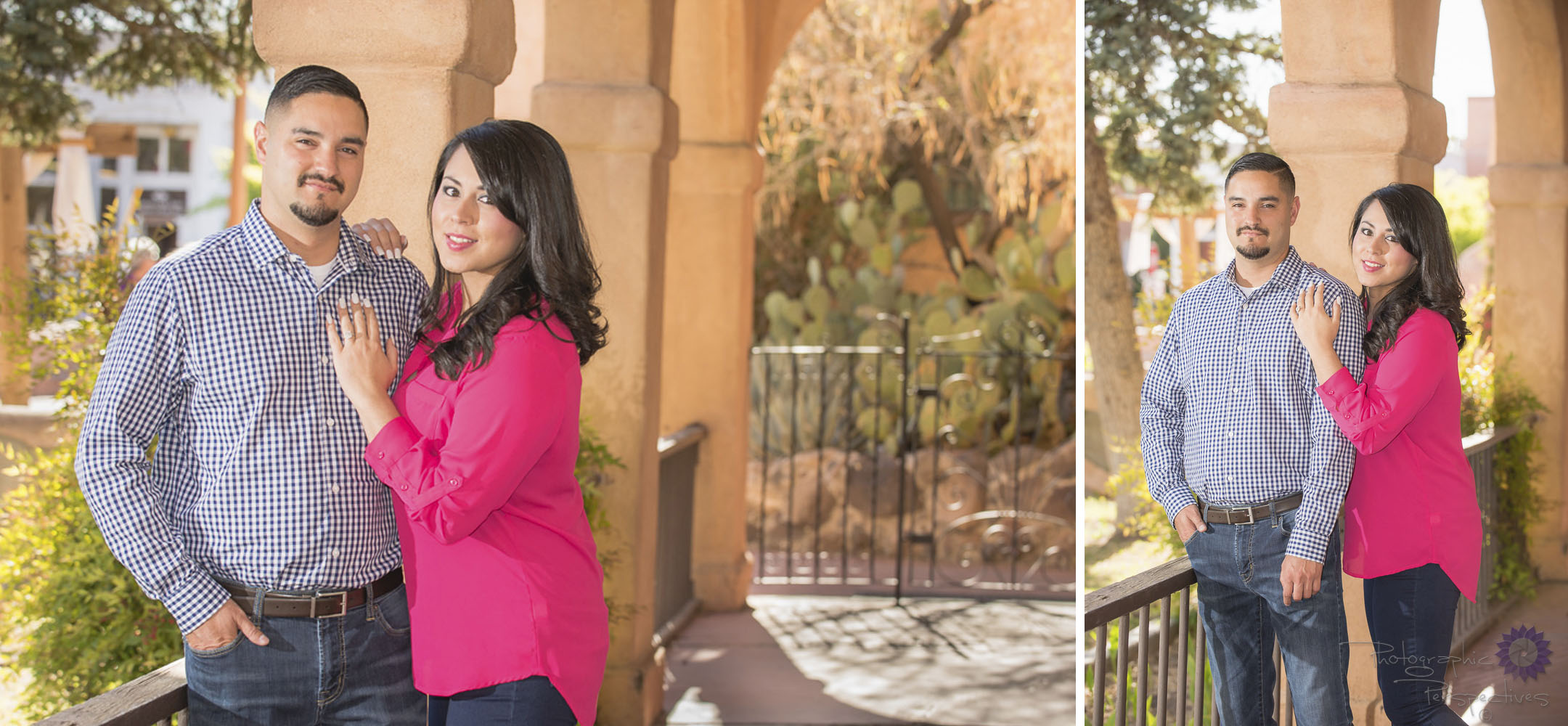 ABQ Old Town | Engagement Photographers Albuquerque | Photographic Perspectives | New Mexico Engagement Session