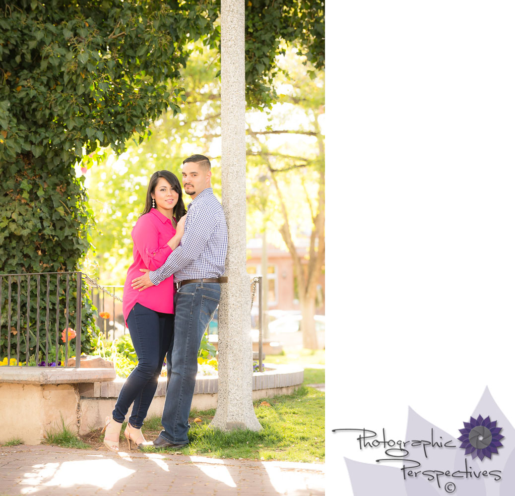 Photographic Perspectives | ABQ Old Town | New Mexico Engagement Session | Engagement Photographers Albuquerque