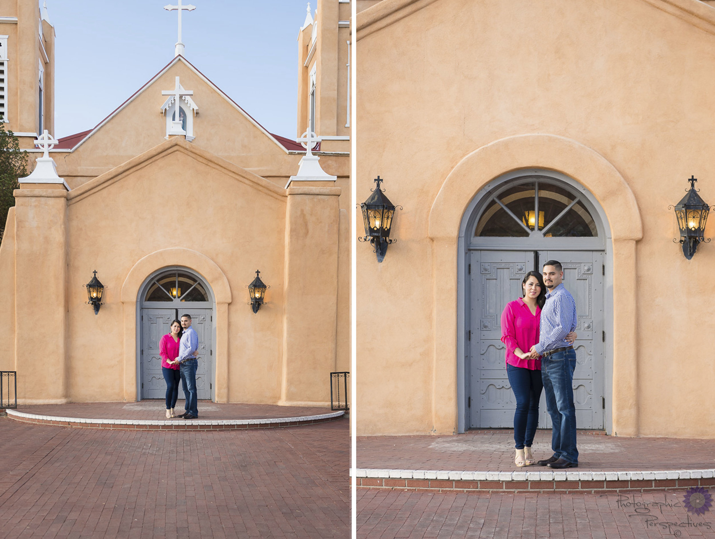 ABQ Old Town | New Mexico Engagement Session | Engagement Photographers Albuquerque | Photographic Perspectives
