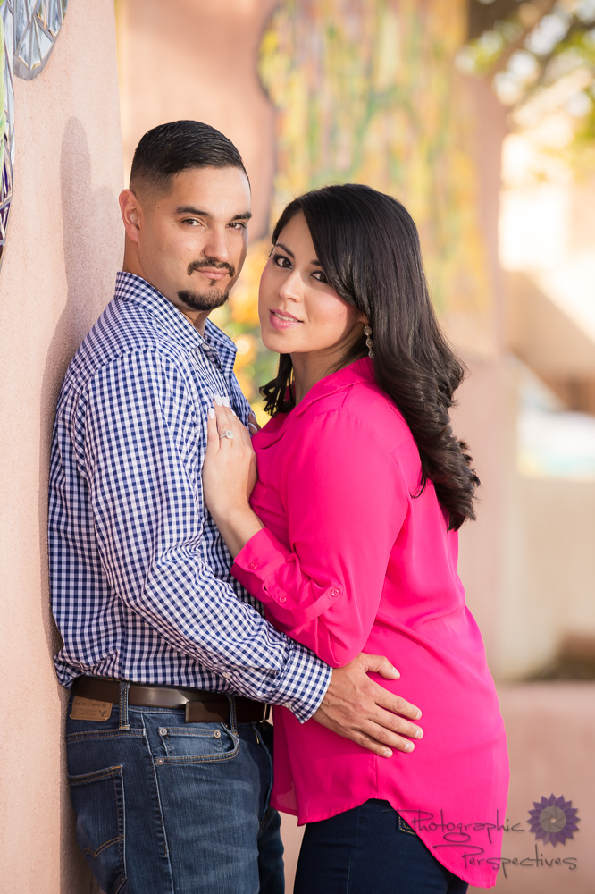 Albuquerque New Mexico Old Town | ABQ Engagement Photographers | Photographic Perspectives |  Engagement Photography ABQ