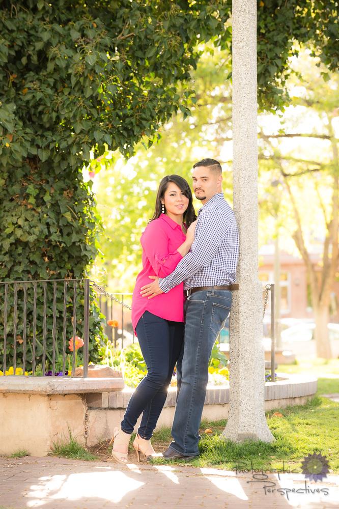 Albuquerque Old Town Engagement | Photographic Perspectives | Engagement Photographers Albuquerque