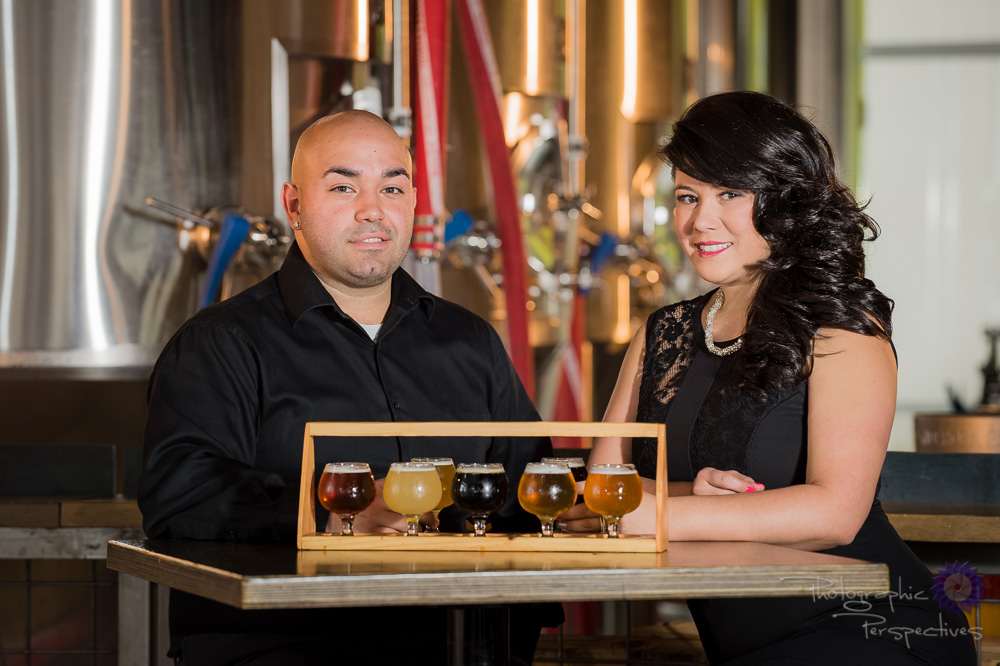Tap Room Engagement | Photographic Perspectives | Engagement Photographers Albuquerque
