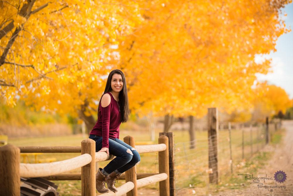 Photographic Perspectives | Albuquerque Photographers| Senior Portraits | Corrales New Mexico | New Mexico Photographers | Fall Senior Portrait Session