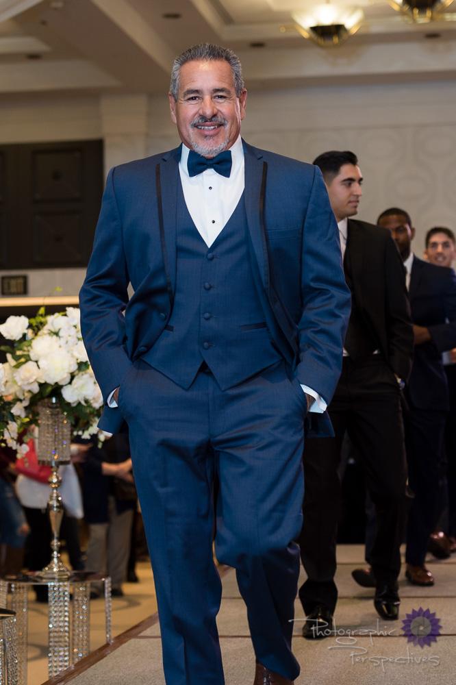 Stephen Geoffrey Slate Blue 4 Piece Tuxedo