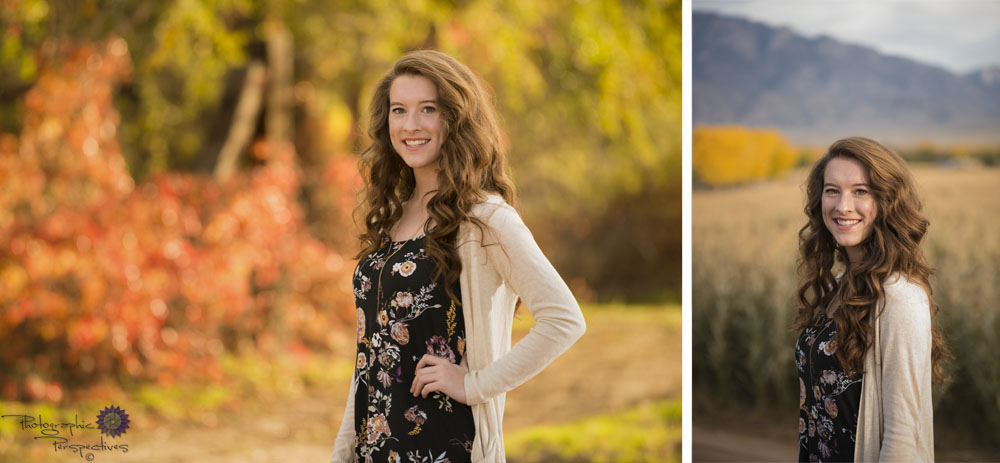 Fall Senior photoshoot in Corrales New Mexico