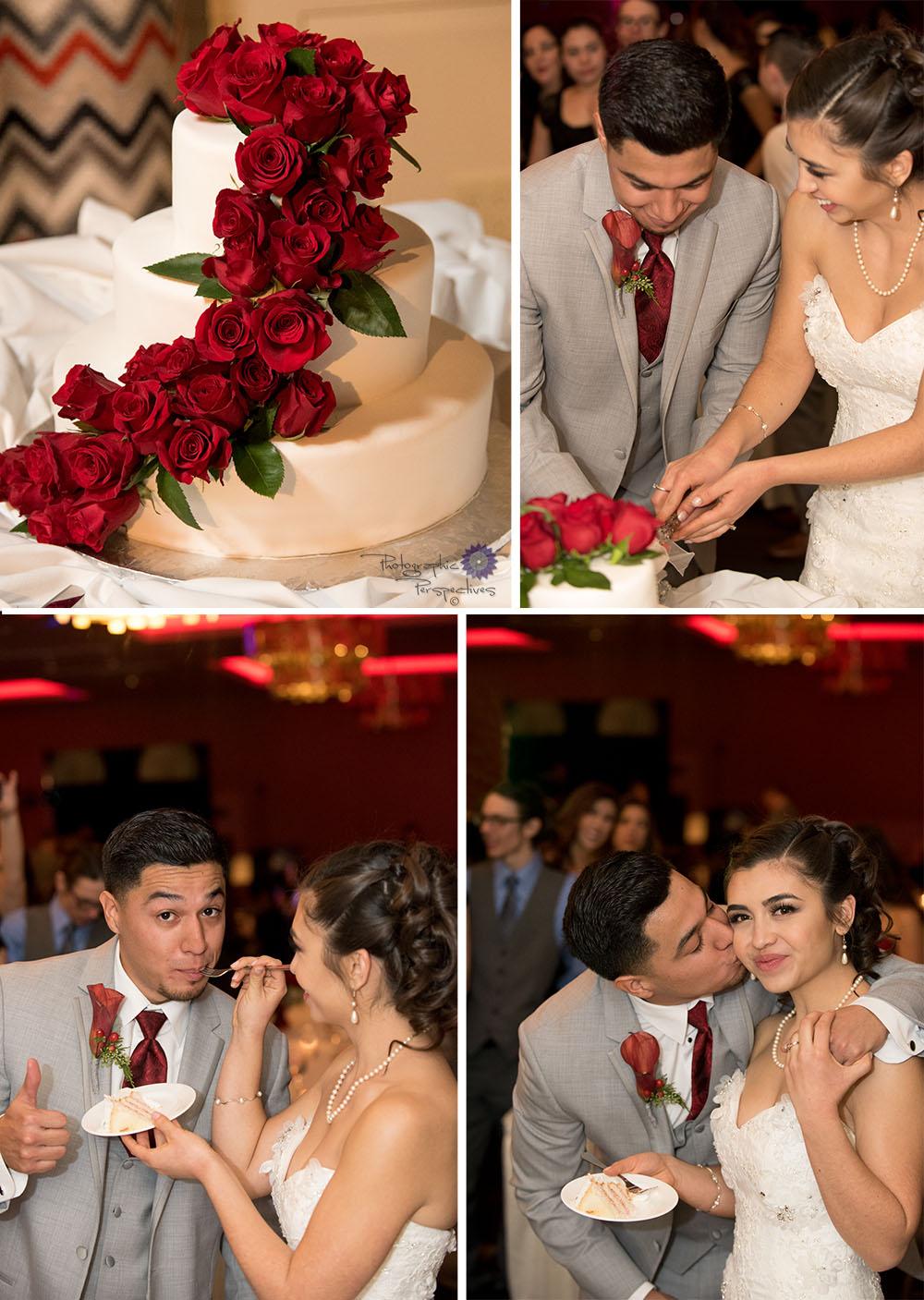 Eldorado Hotel Wedding -cake cutting