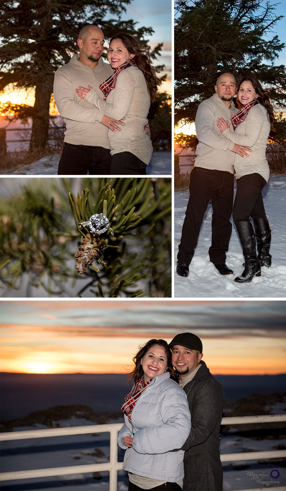 Winter photoshoot   Photographic Perspectives   Engagement