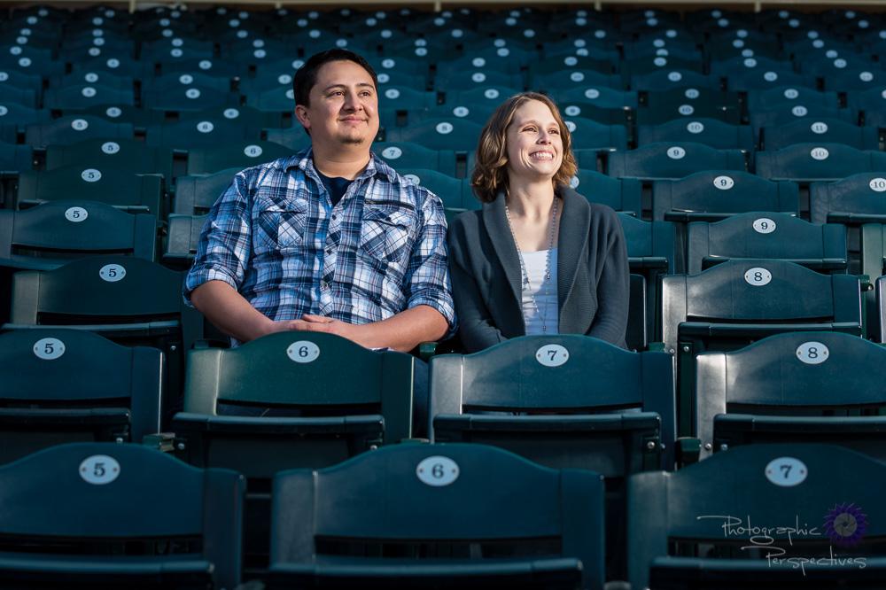 New Mexico Photographer | Baseball Engagement Session