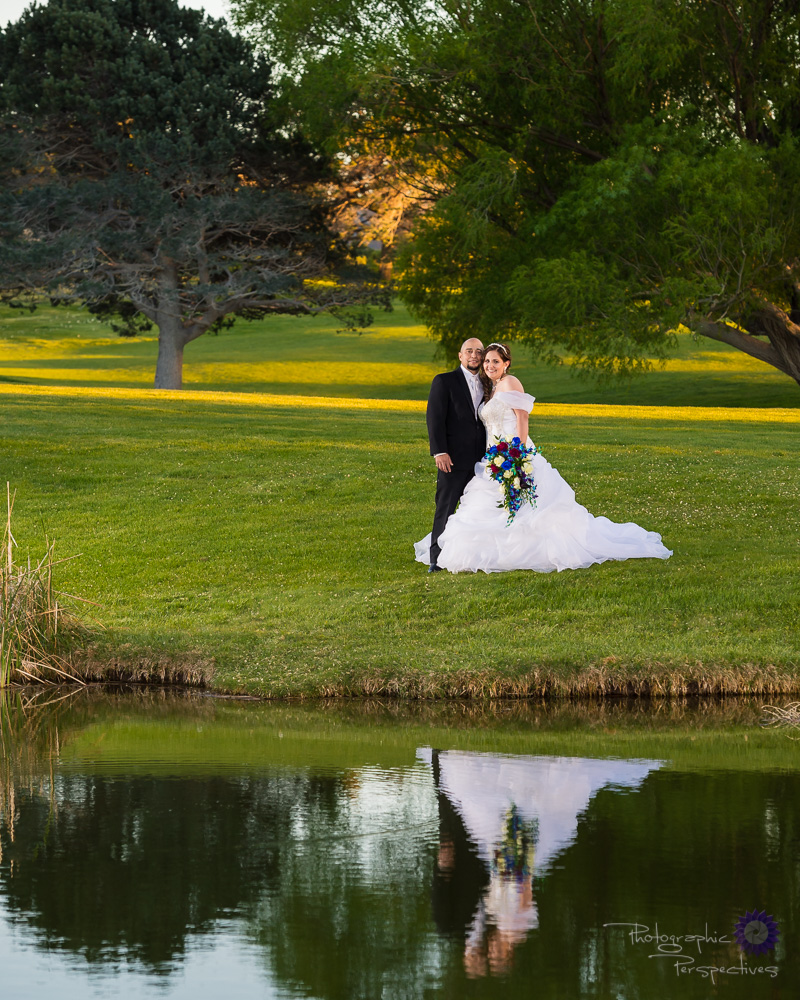 outdoor wedding pictures