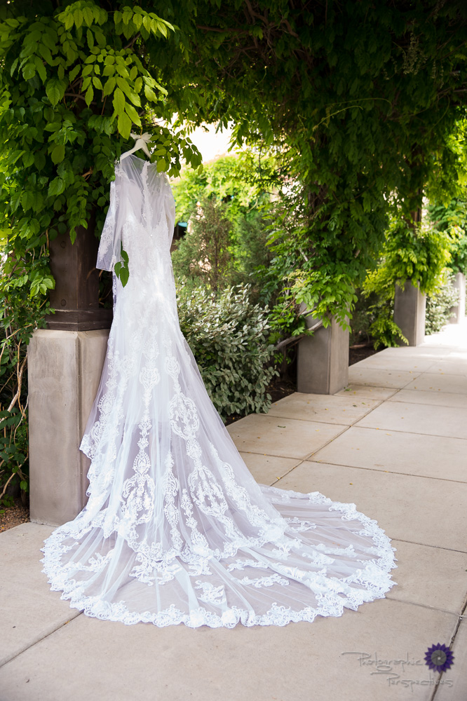 Wedding dress | Hotel Albuquerque | Photographic Perspectives