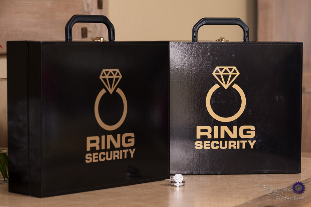 Wedding ring security boxes | Photographic Perspectives | Wedding Details