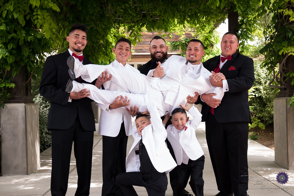 Wedding Photography in New Mexico | Groomsmen