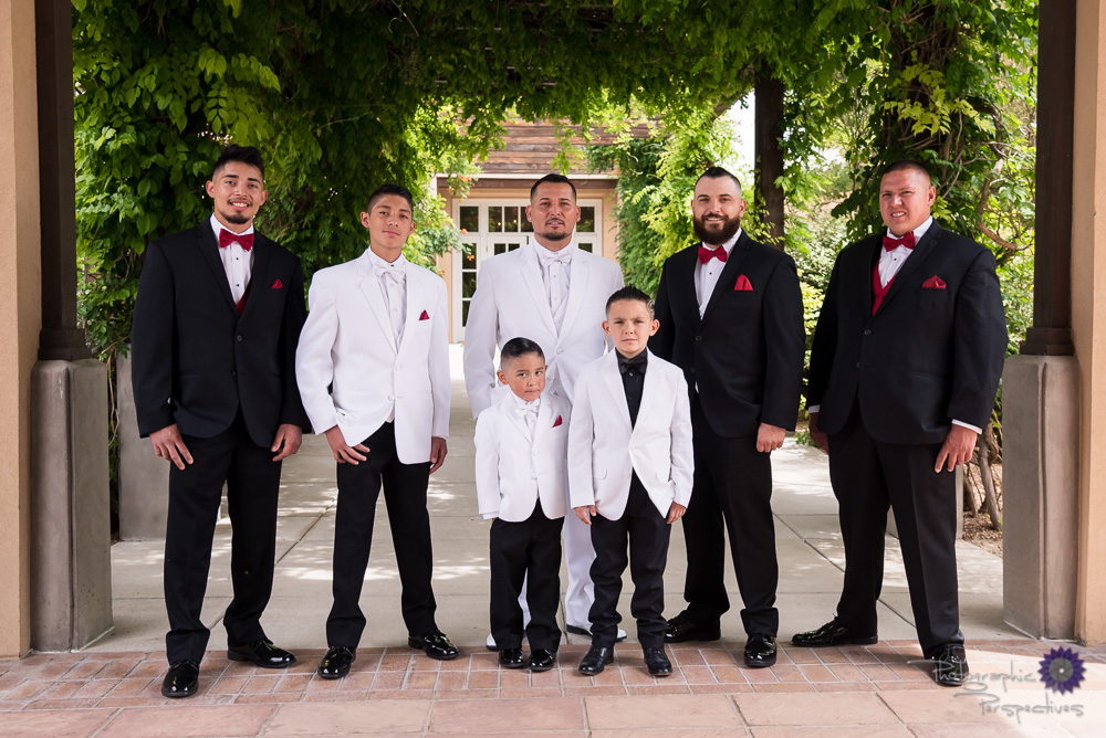 Hotel Albuquerque Wedding | Groomsmen