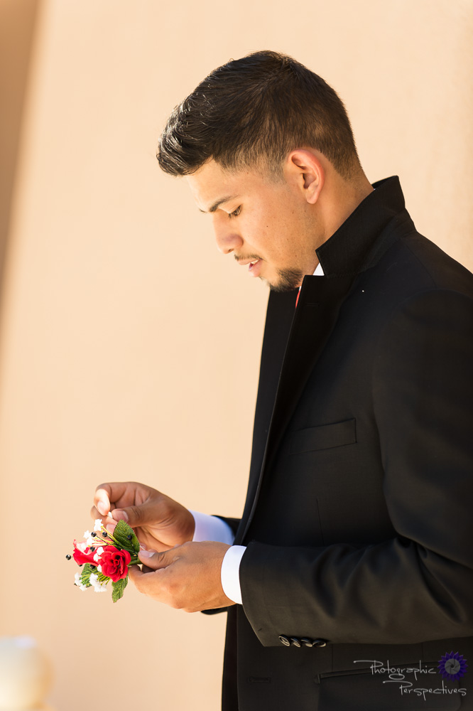 Albuquerque Wedding Groom Prep