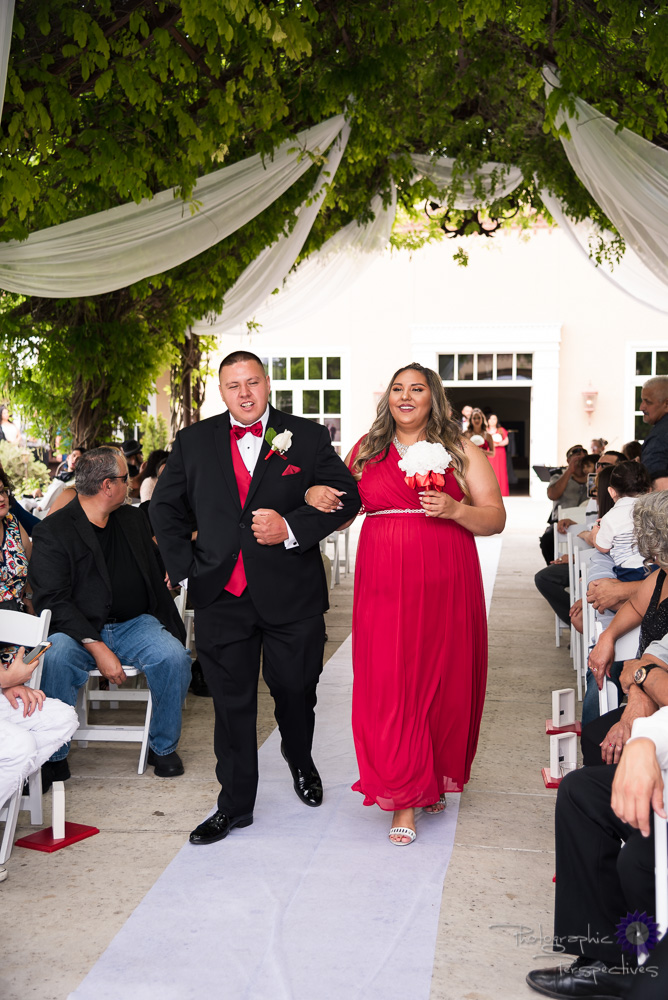Hotel Albuquerque Wedding Ceremony | Wedding Party