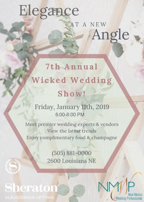 2019 Wicked Wedding Show Flyer