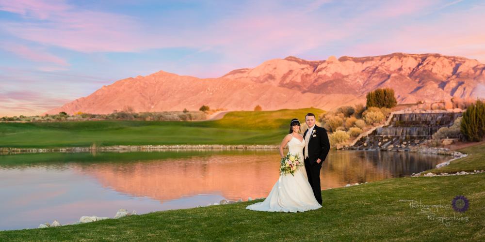 Sunset Sandia Casino & Resort Wedding Photography