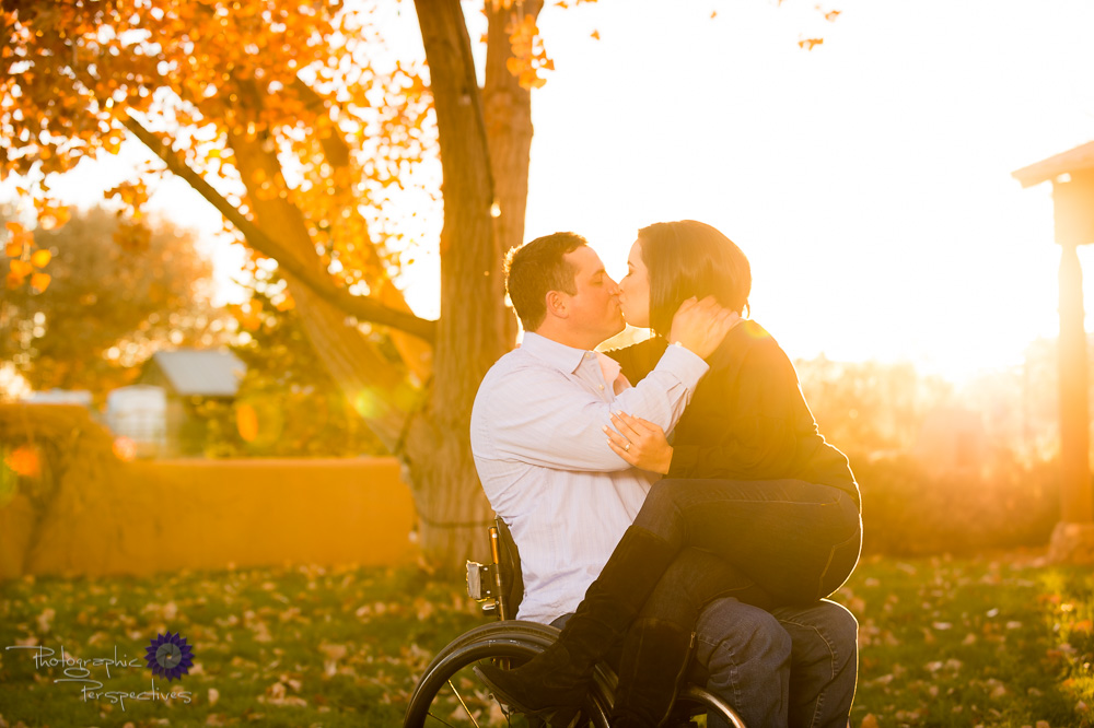 Groom in Wheelchair engagement