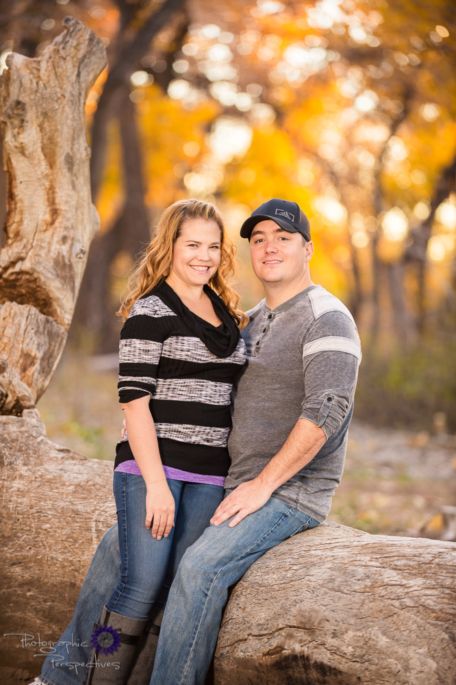 Outdoor Photography | Engagement Photography | New Mexico Fall Engagement
