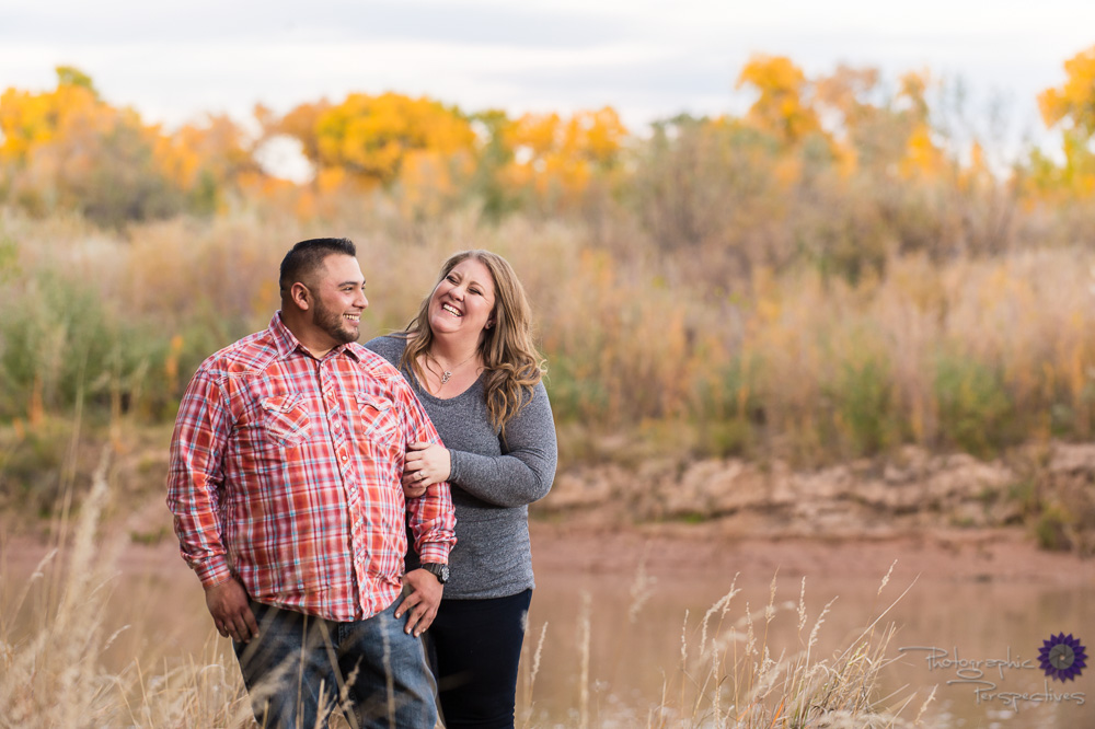 New Mexico Photographer | Fall Engagement Session