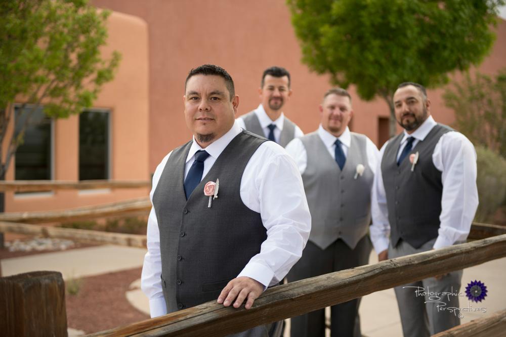Albuquerque Wedding Photographers | Isleta Resort and Casino | Groomsmen Photo.jpg