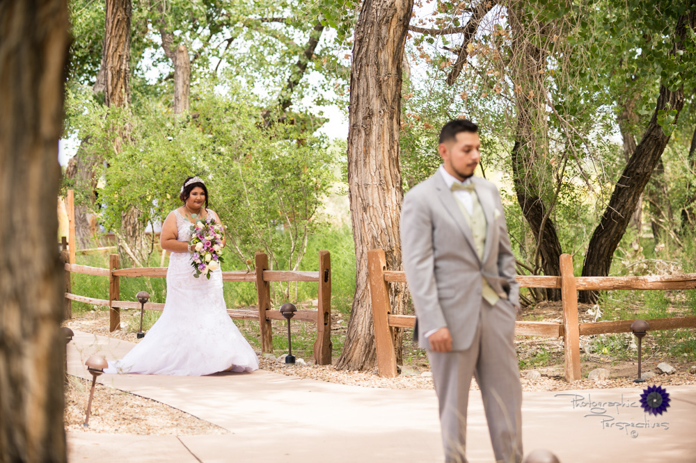 Best Wedding Photographer Albuquerque | Hyatt Regency Tamaya Wedding  | First Look