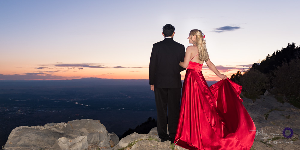 Sandia crest Engagement Photography