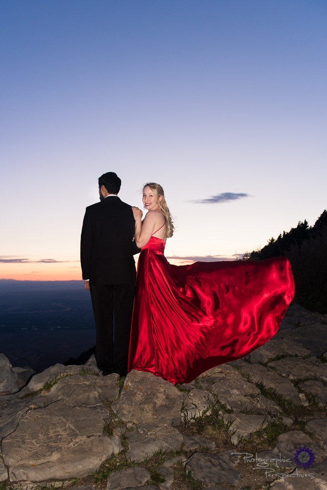 Sandia Crest Engagement Photos