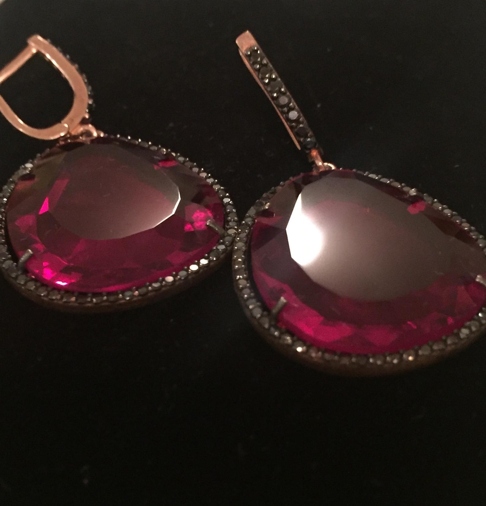 (23) Earrings Magenta.JPG