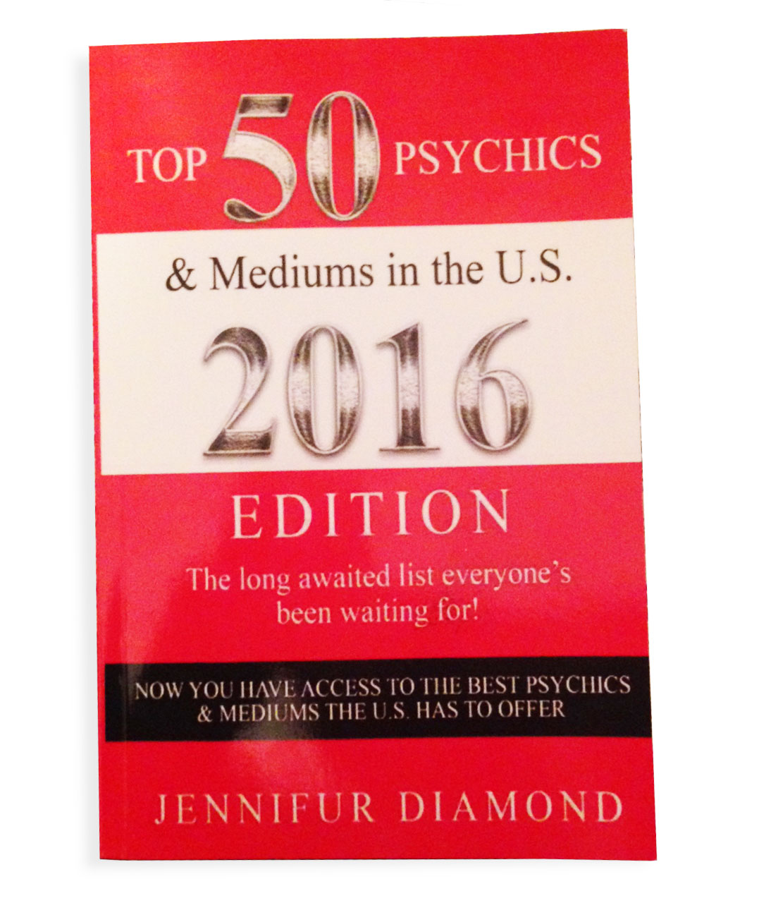 """As an internationally known intuitive,Jenni is featured as one of the nation's top psychics in """"The Top 50 Psychics and Mediums in the U.S. 2016 Edition"""".  Check it out ."""