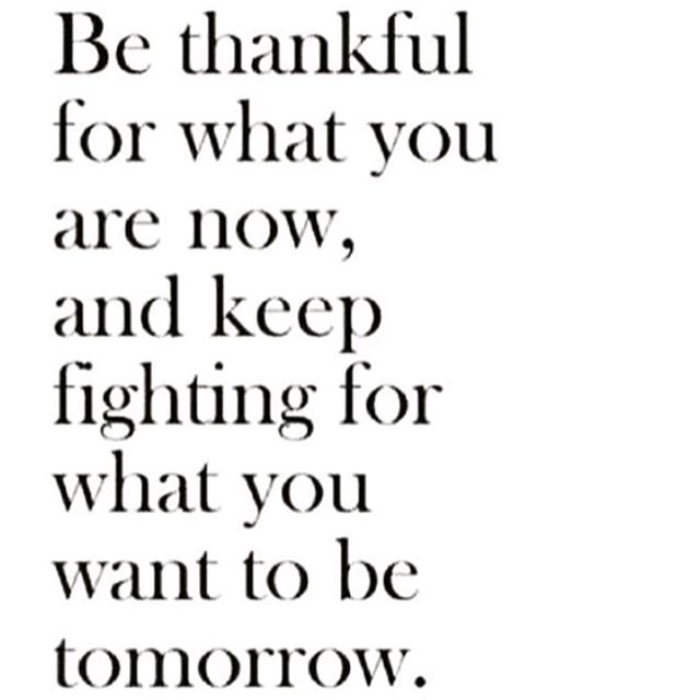 Be thankful 💕